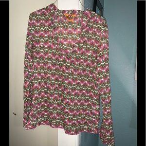 Tory Burch tunic blouse size 12